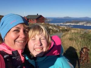 Selfie på fjellet