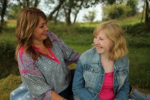 Bilde av mor og datter